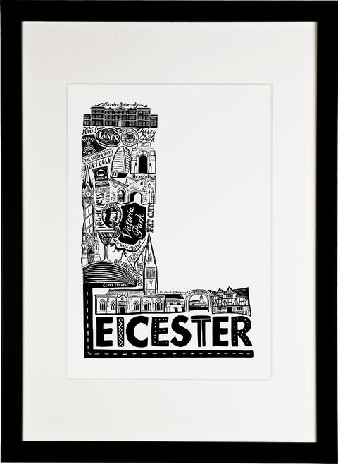 Leicester print