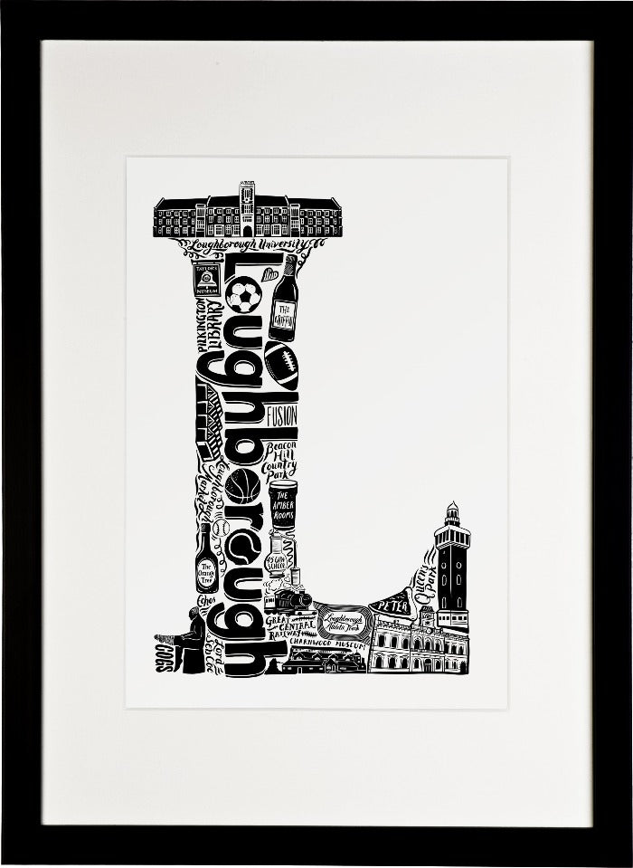 Loughborough University print