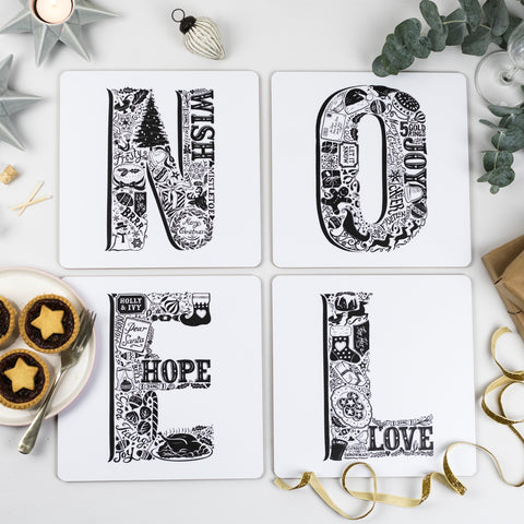 Noel Christmas placemats