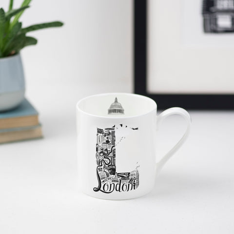 Location Letter Mug Giftset - preorder for delivery 14th December