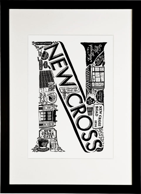 New Cross print