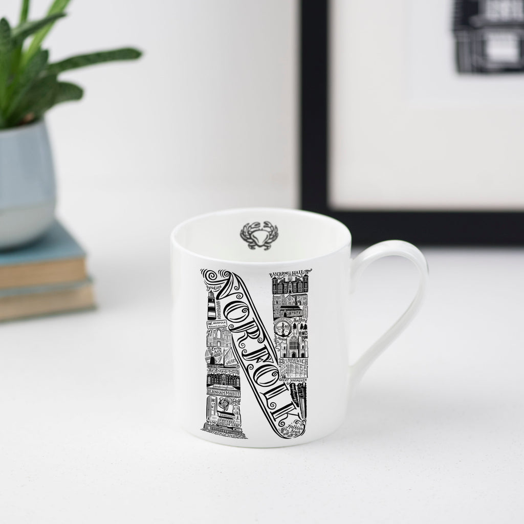 Norfolk Bone China Mug