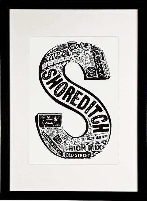 Shoreditch print