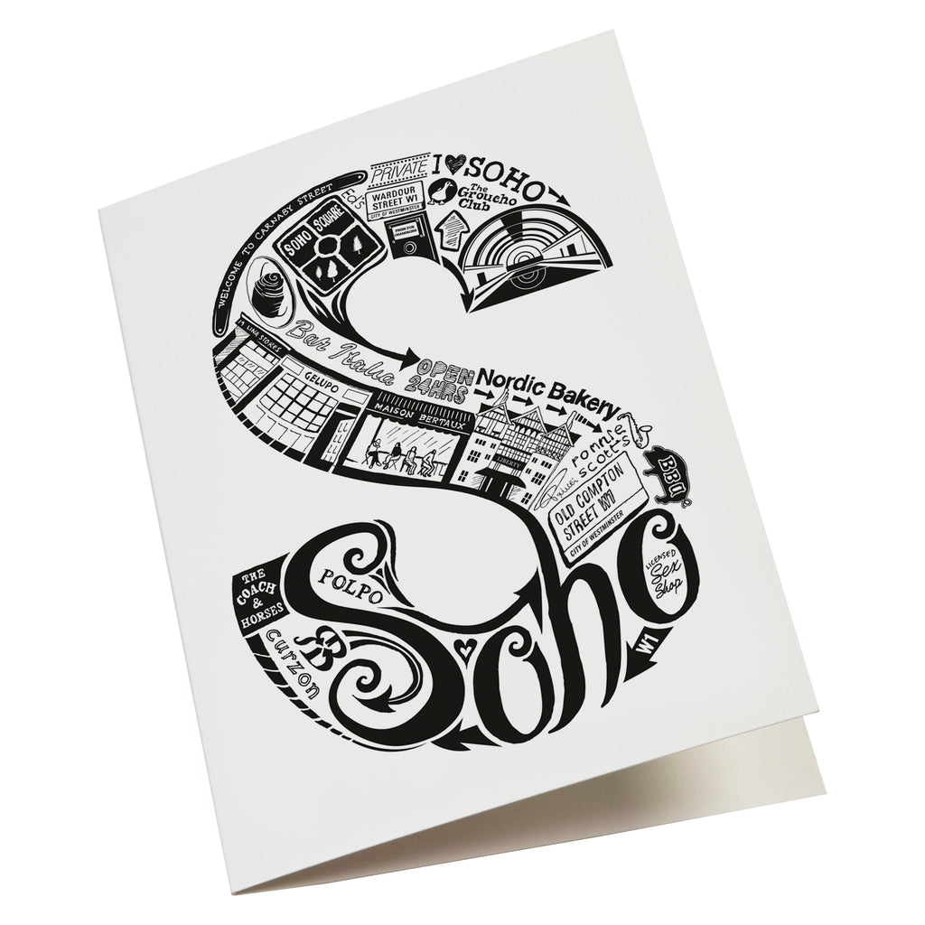 london letter greeting cards  lucy loves this