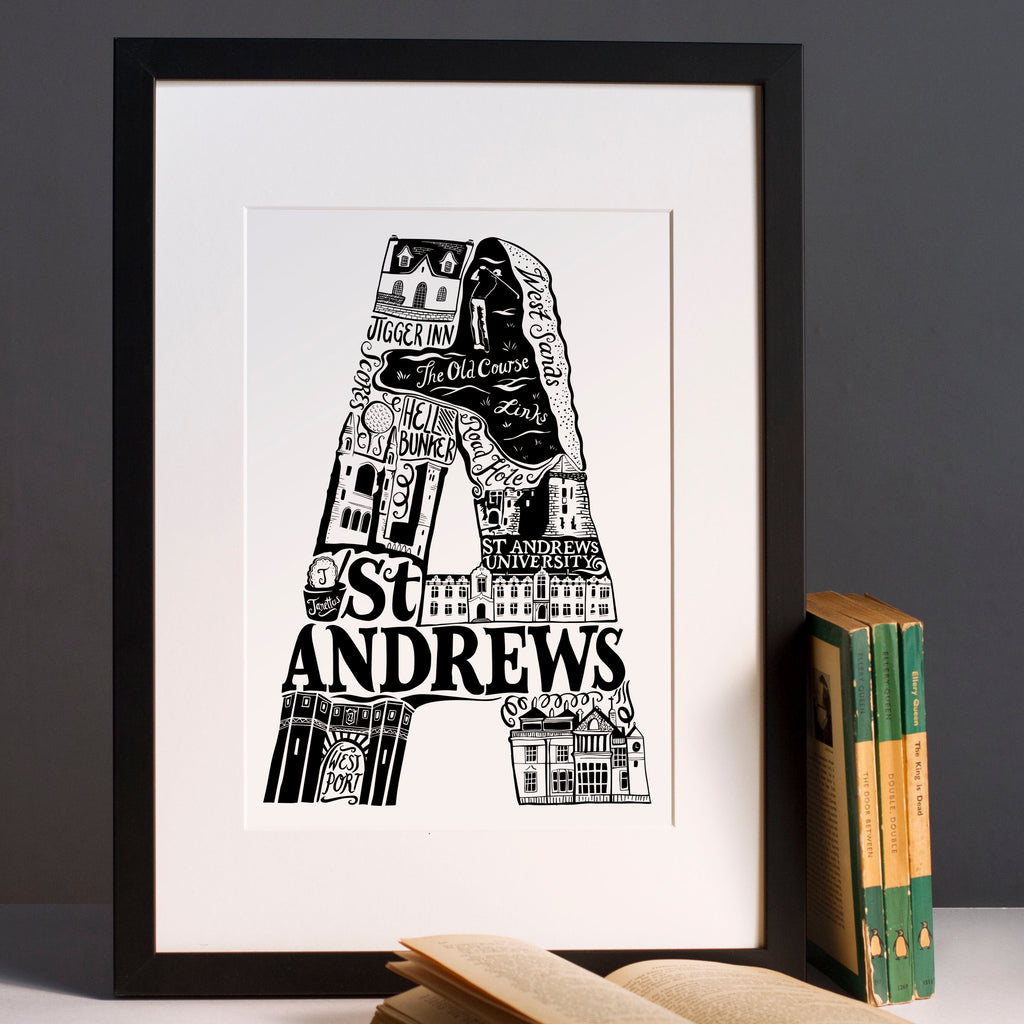 St Andrews print – Lucy Loves This
