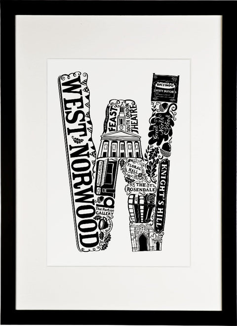 West Norwood print