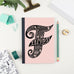 Feminist Notebook - the perfect gift for stationery lovers!