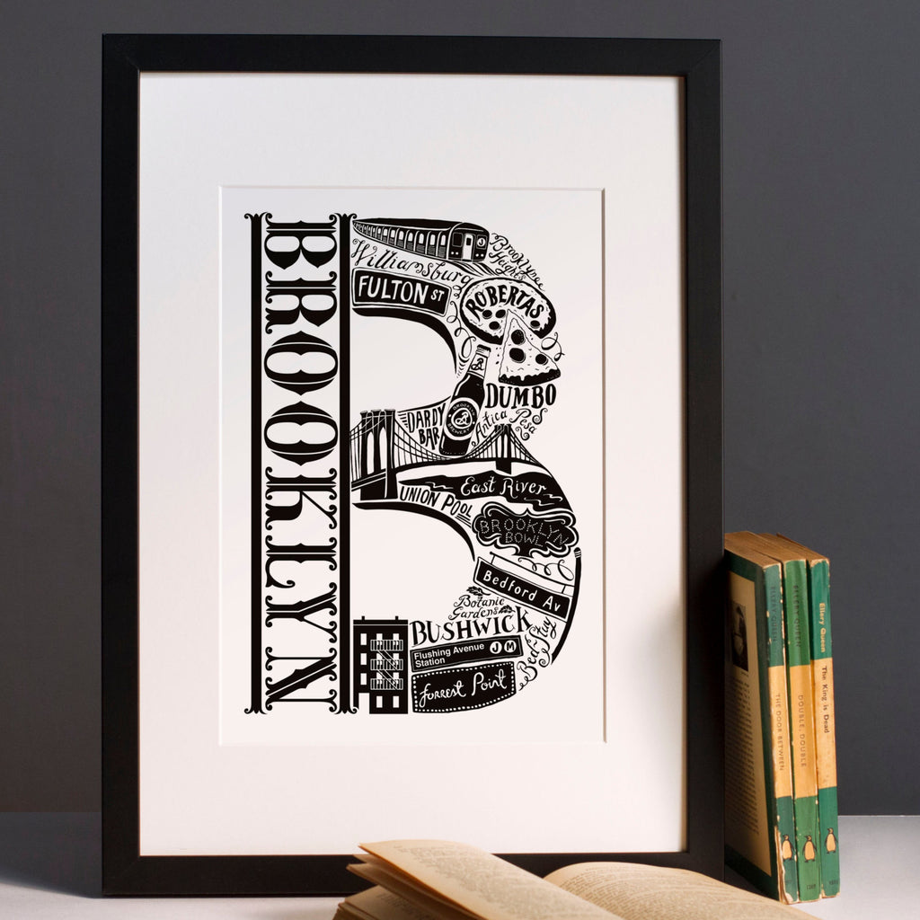 Brooklyn New York print – Lucy Loves This