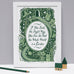 The Secret Garden, Famous Quotes Print