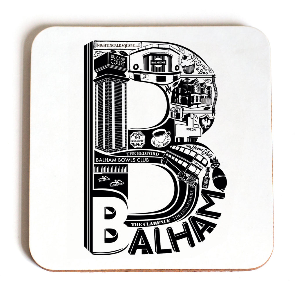 Location Letter Coasters