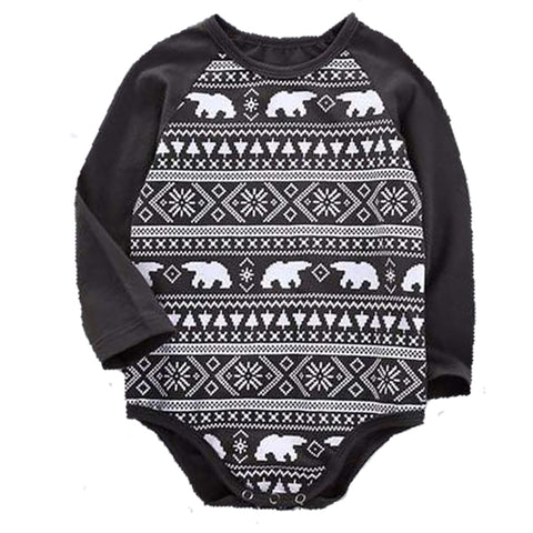 Bear Fairisle Bodysuit