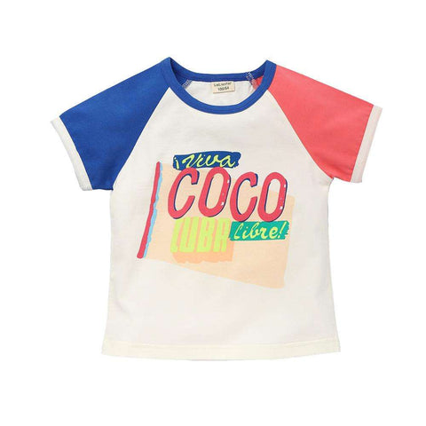 Fashion Print T Shirt Baby Boy Casual Cotton Kids T-shirt 2017 New Clothing Summer Clothes Children Short Sleeve Tees Infant Top,,Hollice