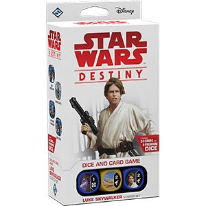 Star Wars Destiny: Legacies Starter Luke Skywalker