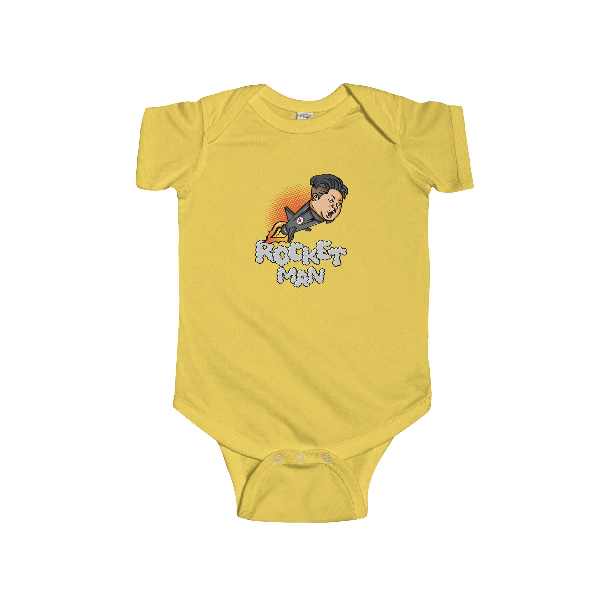 """Rocket Man"" Infant Lap Shoulder Creeper Baby Clothing"
