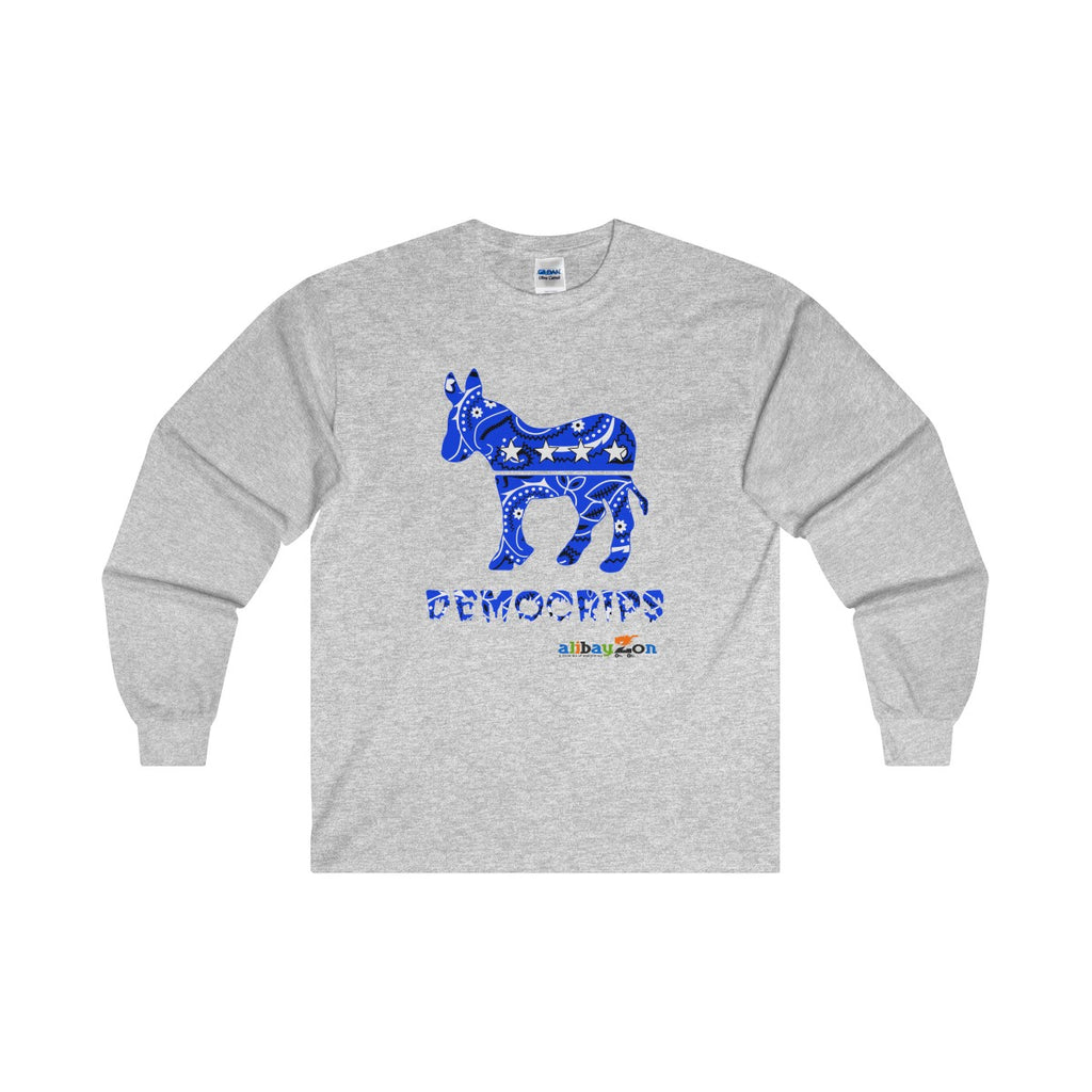 Democrips Cotton Long Sleeve T-Shirt