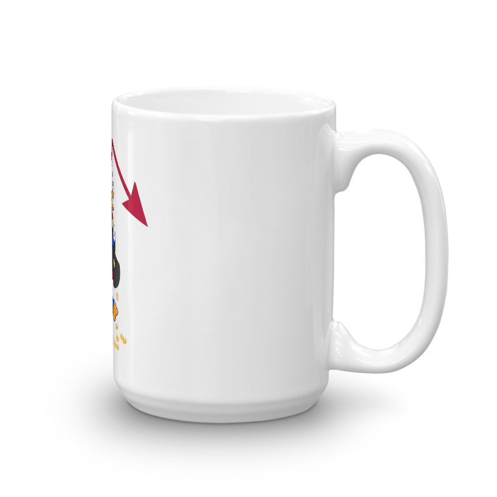 """Down Times"" Coffee Mug"