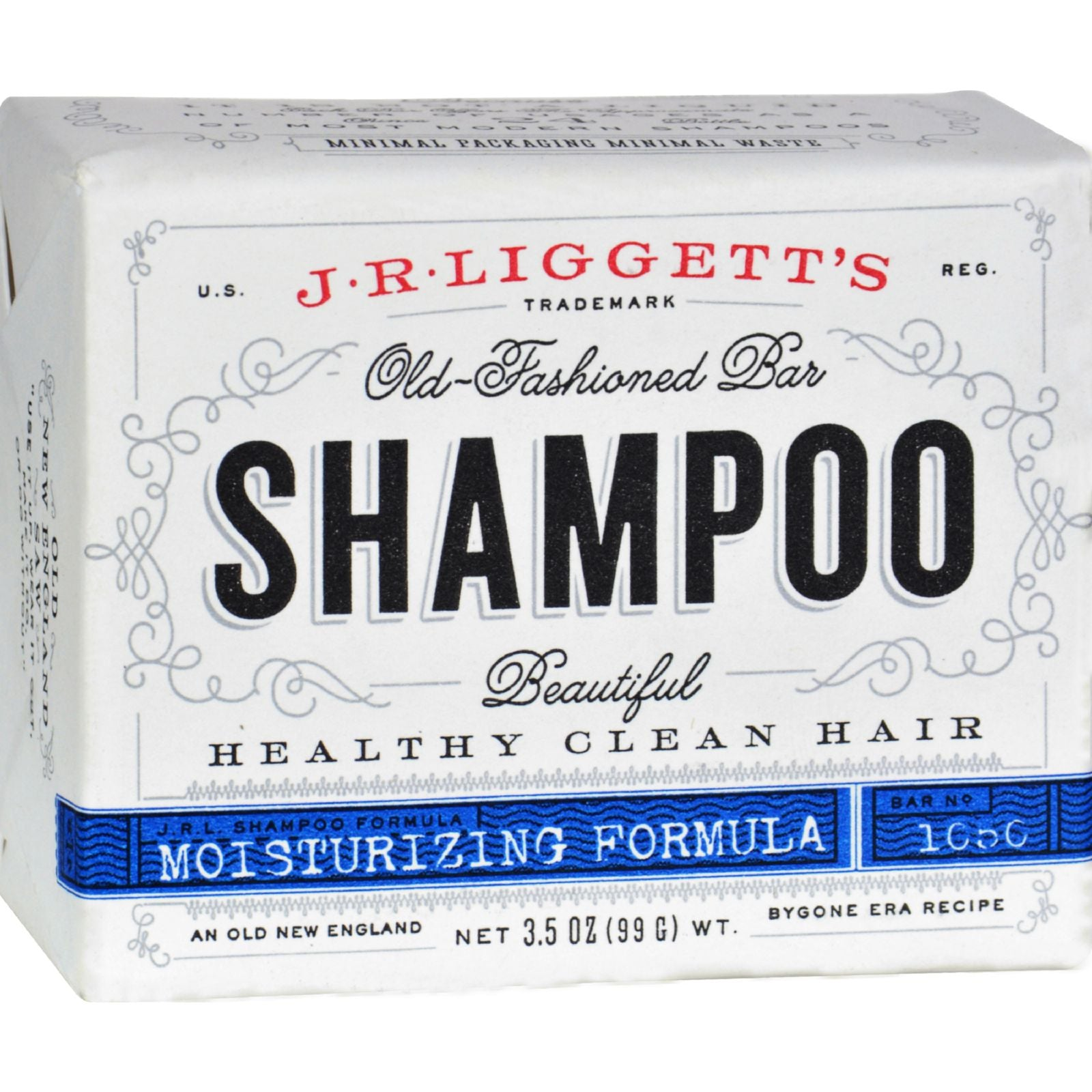 Old-Fashioned Bar Shampoo Damaged and Dry Hair Formula - 3 5 oz