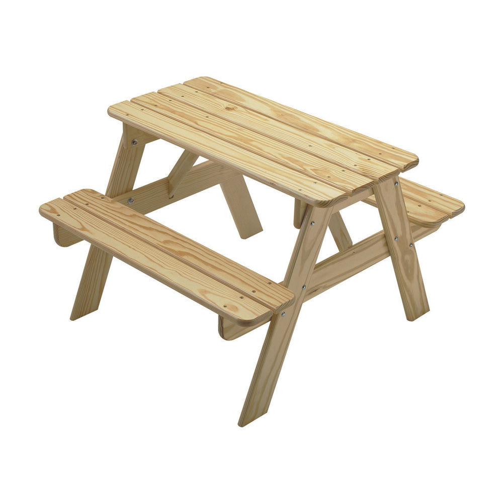Unfinished Kids Sit And Play Childs Picnic Table
