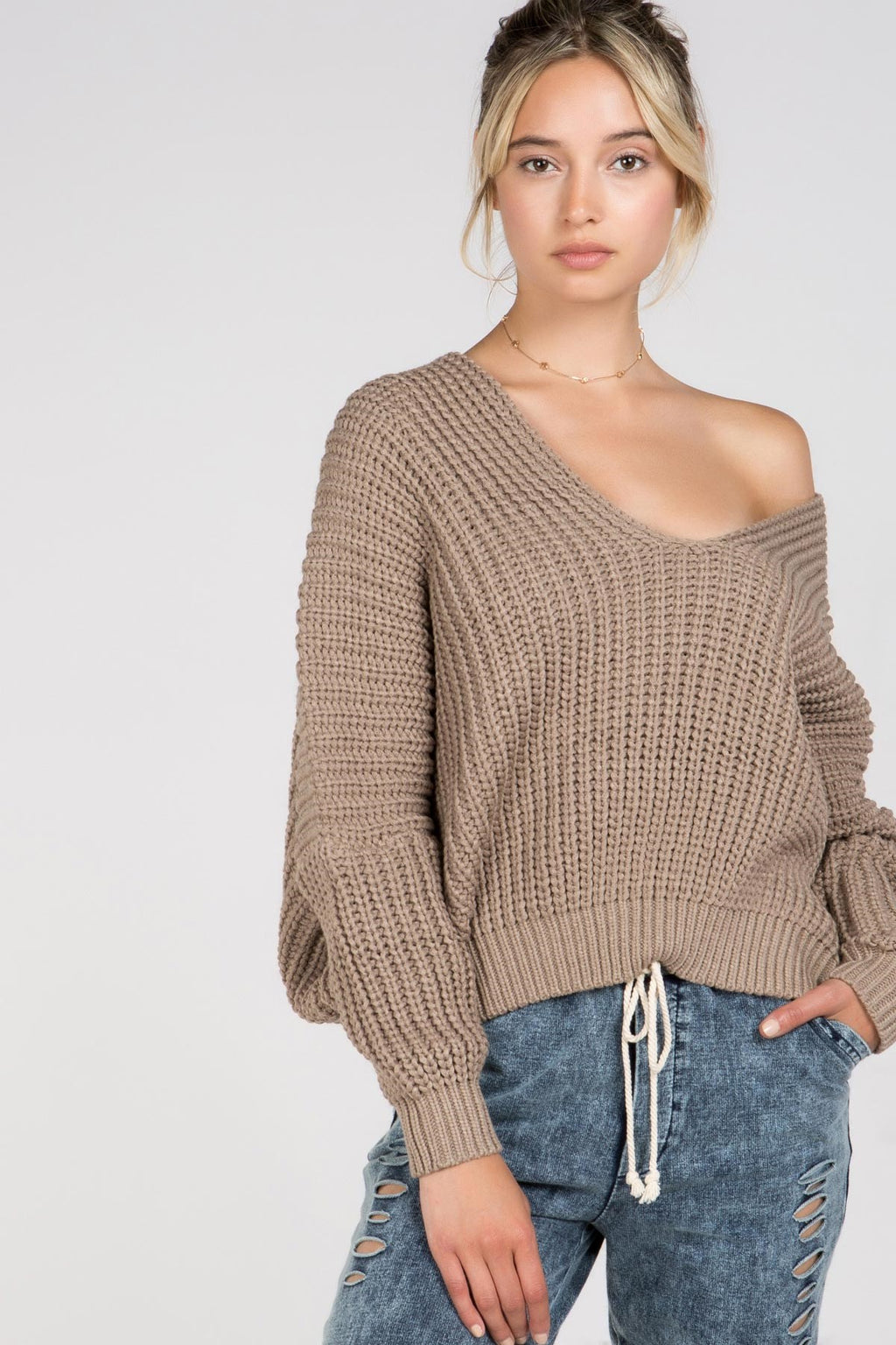 Cocoa - Knit Sweater