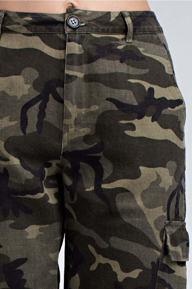 BadAstronaut  - Camo Military Pants