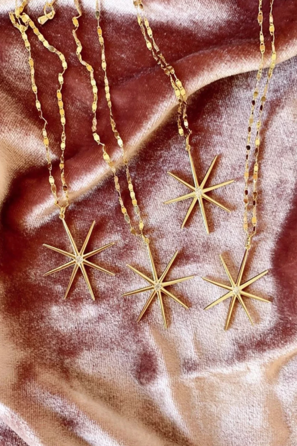 Supernova Star Necklace
