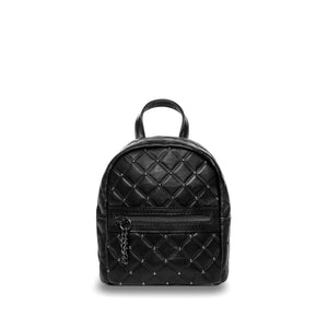 Cher - Black Leather Mini Backpack