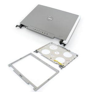"Genuine Dell UF165 NF882 LCD Cover and Bezel with Hinges Kit 15.4"" Widescreen Version For the Inspiron 6400, E1505 and 1501 Laptops Notebooks"