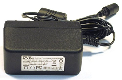 AC Power Supply Adapter Cord For Dell LCD Flat Panel Monitor Soundbar Speaker Models AX510, AX510PA, AS501, AS501PA, Replaces HKSC-060693EP, HK-C112-A12, and DVE DSA-15P-12