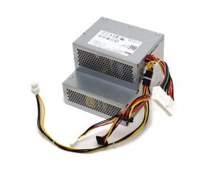 Genuine Dell H790K Optiplex 360 Desktop (DT) System 255W Power Supply PSU, Compatible Part Numbers: H797K, HP-D2553A0 02LF, F225E-01, Compatible Model Number: H255E-01