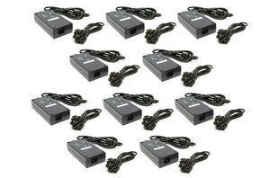 10 power adapters