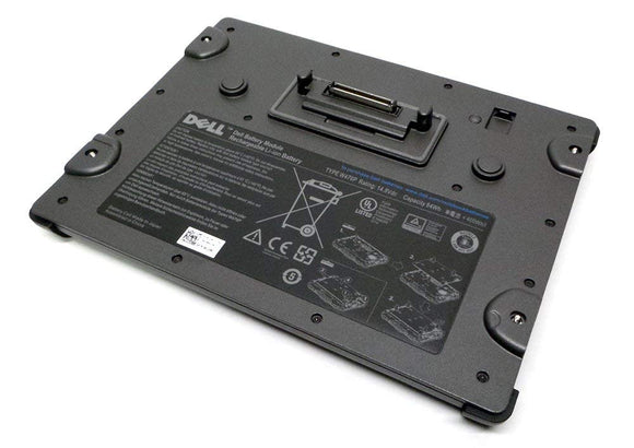Genuine U128K Dell Latitude E6400 XFR Type W476P Slice Additional Battery Compatible Part Numbers: U128K, 0U128K