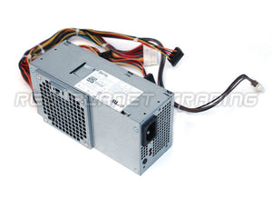 CYY97, 7GC81, 6MVJH, YJ1JT, 3MV8H, 3WFNF, 5FFR5, 76VCK Genuine Dell OEM 250 Watt Power Supply Unit for Inspiron 530s, 620s, Vostro 220s Slim Model, Part Number: 3WFNF AC250NS-