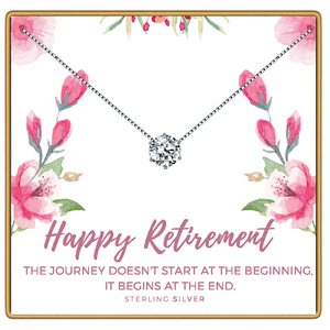 Happy Retirement Necklace