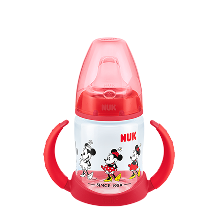 BIBERON TAZA FIRST CHOICE 150 ML MINNIE ROJO