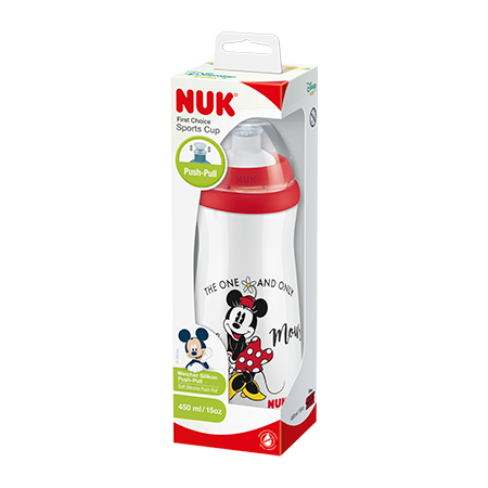 VASO SPORT CUP  MINNIE 450 ML  (36 M+)
