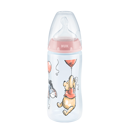 BIBERON FIRST CHOICE PP #1 300ML WINNIE Rosa