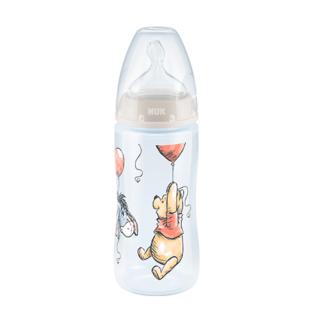 BIBERON FIRST CHOICE PP #1 300ML WINNIE Gris