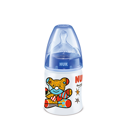 Biberón Plástico First Choice Romero Britto 150 ml