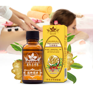 Lymphatic Drainage Ginger Oil + Free Shipping