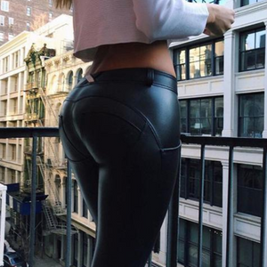 2019 ZEUS ECO-LEATHER LEGGINGS