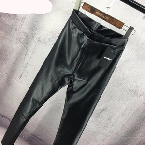 Sexy Mat Wet Look Leather Legging