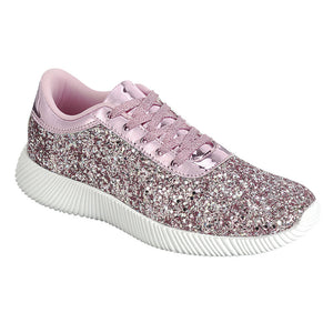 Glitter Lace Up Sneakers
