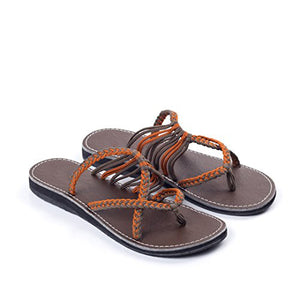 Casual Breathable Bandage Flat Sandal