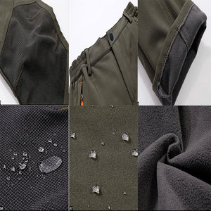 Warm Fleece Pants Waterproof Outdoor