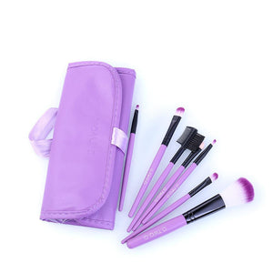 7pcs/lot Red Make Up Brushes Set