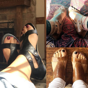 Soft Leather Boho Sandals