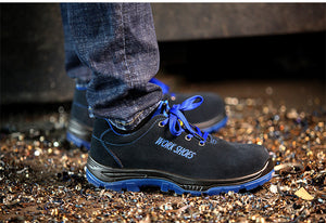 CHEAP STEEL TOE BOOTS - VIRAL CASUAL WORK SHOES