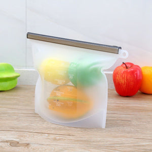 Reusable Ziplock Bags 4 PCS