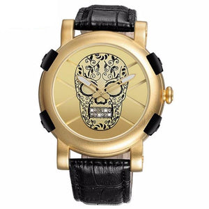 The 3D Skull Watch