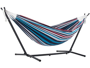 Double Hammock with Space-Saving Steel Stand